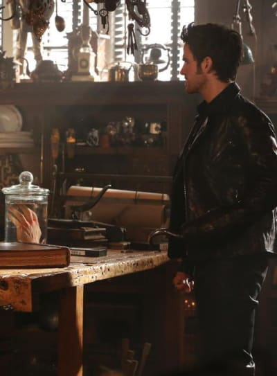 Hook's Hand - Once Upon a Time Season 4 Episode 4