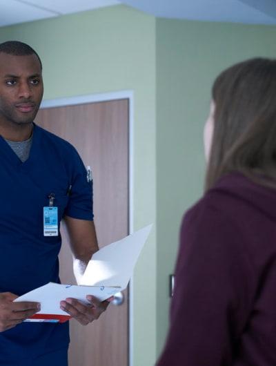 Keon Delivers Bad News - Nurses Season 1 Episode 8