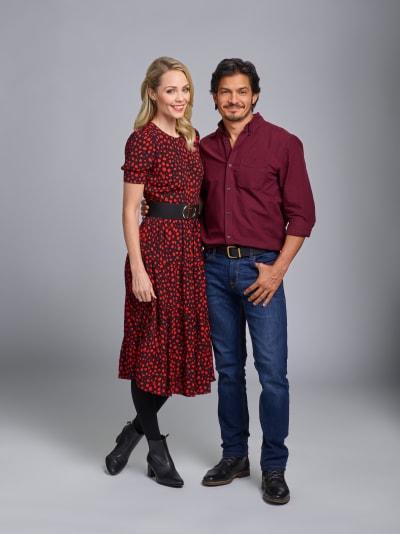 Laura Vandervoort and Nicholas Gonzalez
