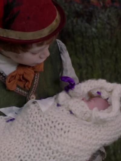 Pinocchio With Baby Emma - Once Upon a Time Season 1 Episode 20