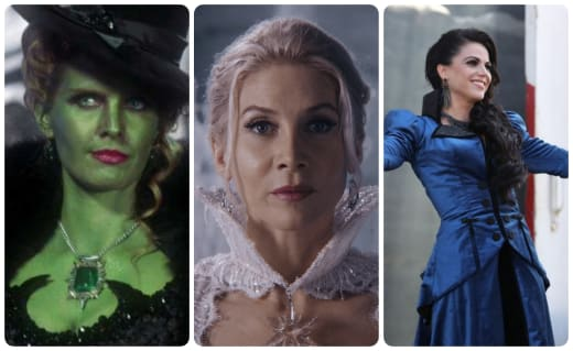 Redemption arcs OUAT Collage - Once Upon a Time