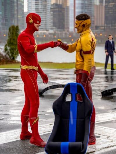 Teamwork - The Flash Season 6 Episode 14