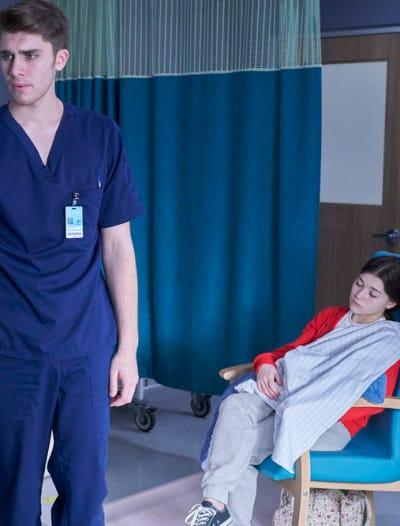 Wolf Worries About Sasha - Nurses Season 1 Episode 7