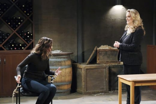 Anna Discovers Gwen - Days of Our Lives