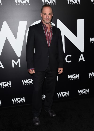Chris Meloni attends WGN Event
