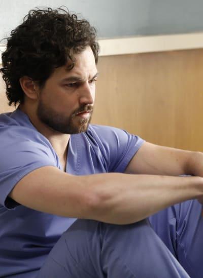 DeLuca's Crash - Tall  - Grey's Anatomy Season 16 Episode 21