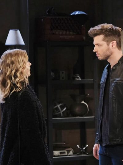 Evan Kidnaps Claire/Tall - Days of Our Lives