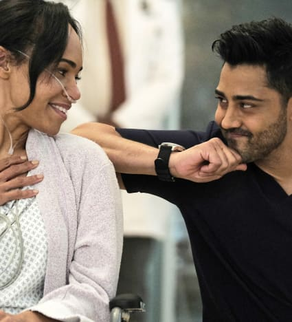 Making Patients Smile - Tall - The Resident Season 4 Episode 7
