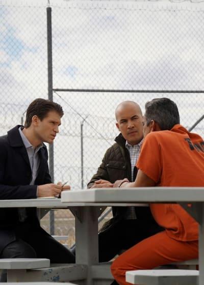 On Location at the Prison - Walker Season 1 Episode 6