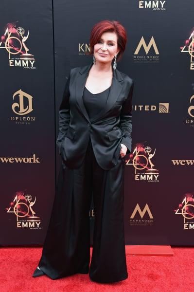 Sharon Osbourne at Daytime Emmys