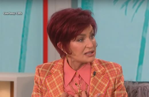 Sharon Osbourne on The Talk