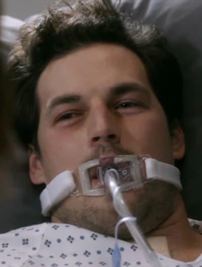 Sickly DeLuca  - Grey's Anatomy Season 17 Episode 7