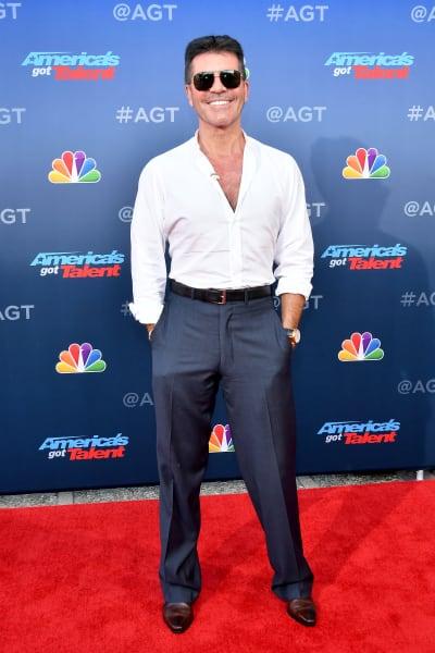 Simon Cowell Attends AGT Premiere