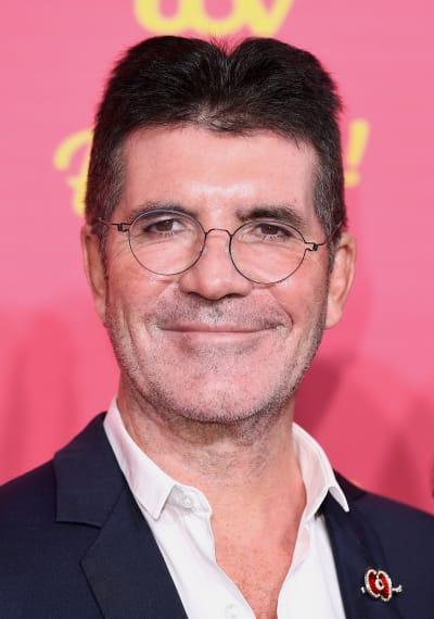 Simon Cowell Attends ITV Event