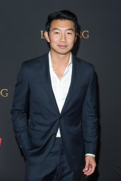 Simu Liu Attends Lion King Premiere