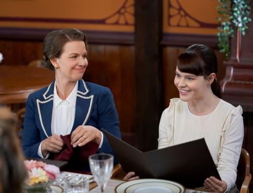 Susannah and Rachel Visit - When Calls the Heart Season 8 Episode 4
