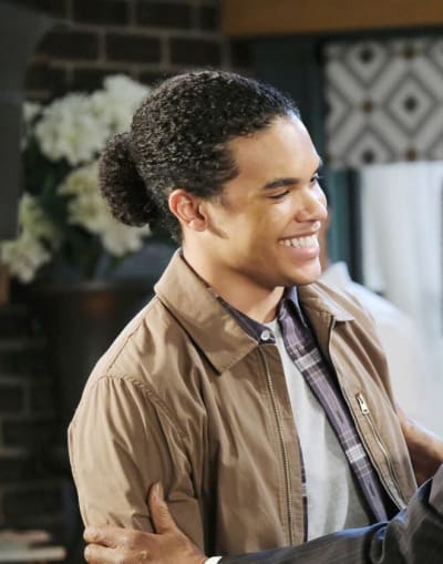 Theo Returns/Tall - Days of Our Lives