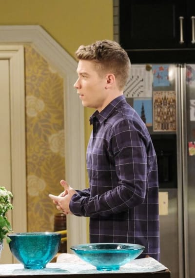 Allie Tries to Protect Tripp/Tall - Days of Our Lives