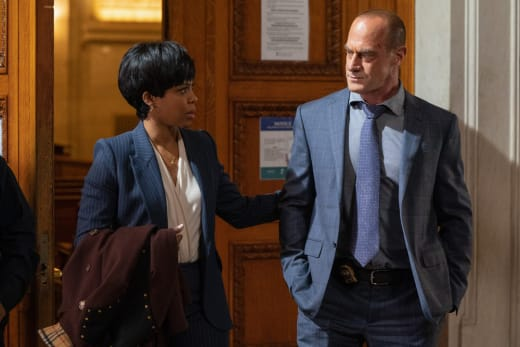 Bell Offers Stabler Support - Law & Order: Organized Crime Season 1 Episode 4