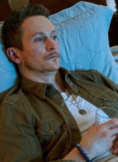 Bryan in Bed - Debris Season 1 Episode 7