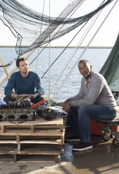 Fixing the Boat - The Falcon and The Winter Soldier Season 1 Episode 5