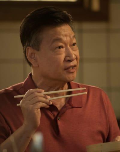 Jin Eating - Kung Fu Season 1 Episode 4
