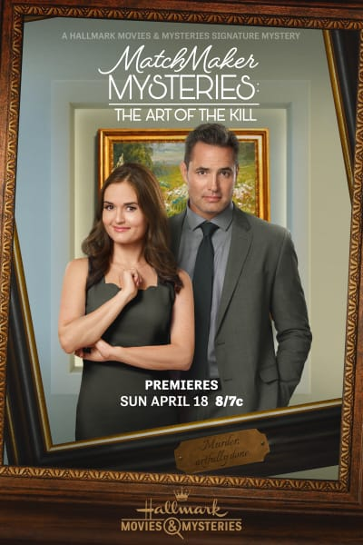 Matchmaker Mysteries The Art of the Kill Poster