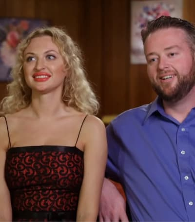 Natalie and Mike Pose - 90 Day Fiance