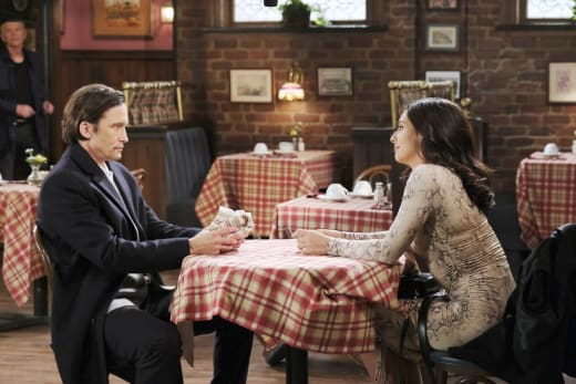 Philip Asks Gabi Out - Days of Our Lives