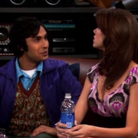 Raj talking to Missy - The Big Bang Theory