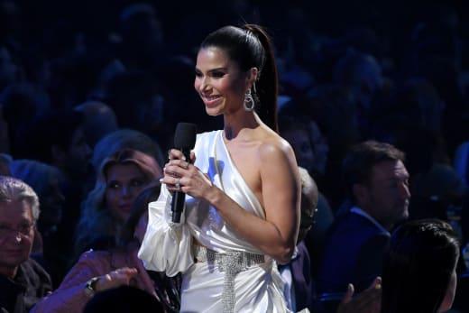Roselyn Sánchez Attends Latin Grammy Awards