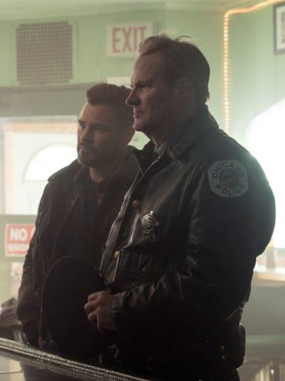 Ruzek and Pops - Chicago PD Season 8 Episode 10