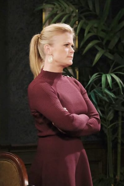 Sami Warns Lucas/Tall - Days of Our Lives