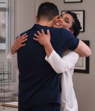 SharpShin Hug - Tall - New Amsterdam Season 3 Episode 6