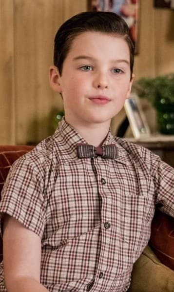 Smug Sheldon  - Young Sheldon