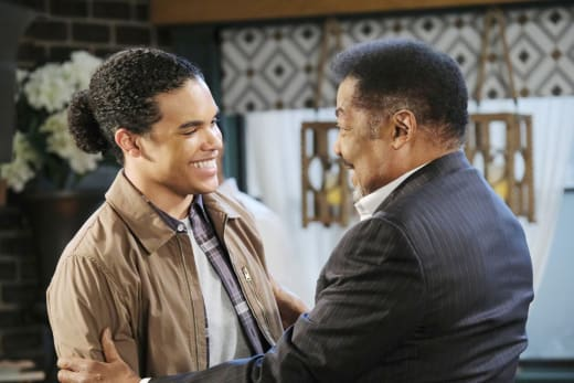 Theo Returns - Days of Our Lives