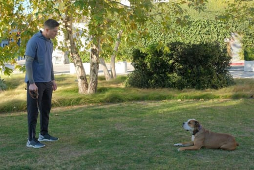Tim and His Dog - The Rookie Season 3 Episode 10