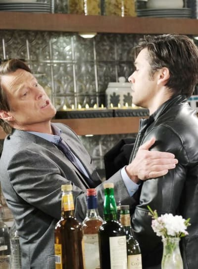 Xander Causes a Scene/Tall - Days of Our Lives
