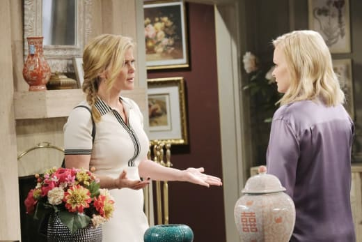 Belle Accuses Sami - Days of Our Lives