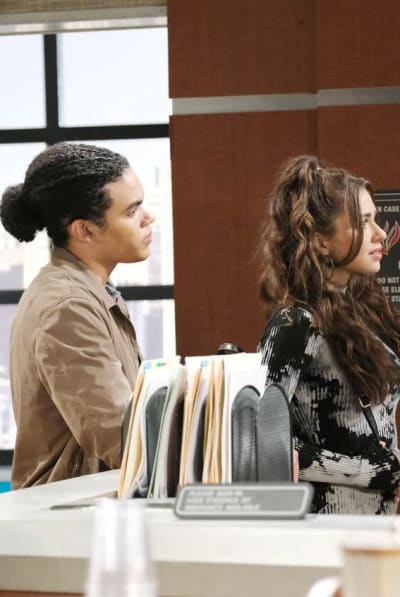 Ben Tries to Stop Ciara / Tall - Days of Our Lives