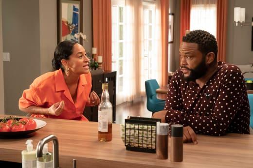 Bow & Dre Talk About Junior - black-ish Season 5 Episode 1