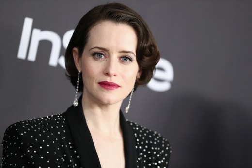 Claire Foy Appears at After Party