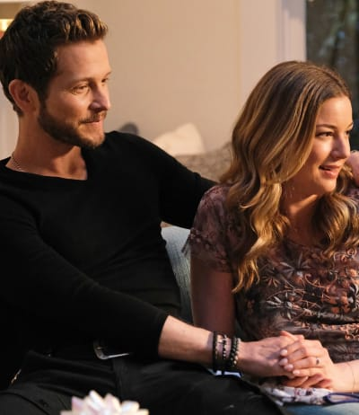 Expecting Parents - tall  - The Resident Season 4 Episode 13