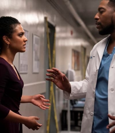 Figuring Out a Solution -tall - New Amsterdam Season 3 Episode 12