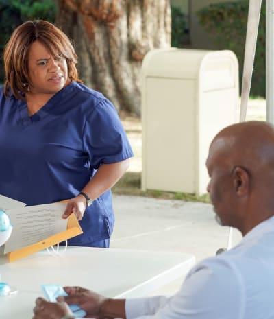 Jackson Says Goodbye to Richard and Bailey - tall - Grey's Anatomy Season 17 Episode 15