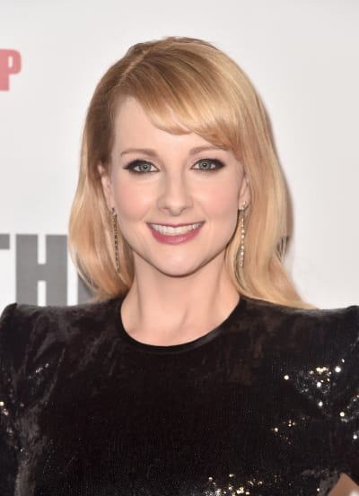 Melissa Rauch Attends TBBT Finale Party