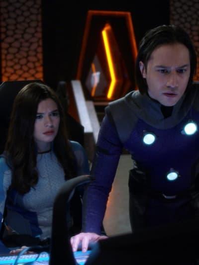 Nia and Brainy - Supergirl Season 6 Episode 7