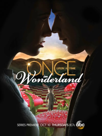 Once Upon A Time In Wonderland Poster/Ad