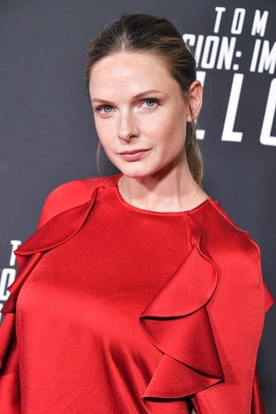 Rebecca Ferguson Attends Mission Impossible Premiere