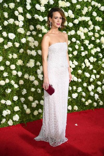 Sarah Paulson Attends 2017 Tony Awards